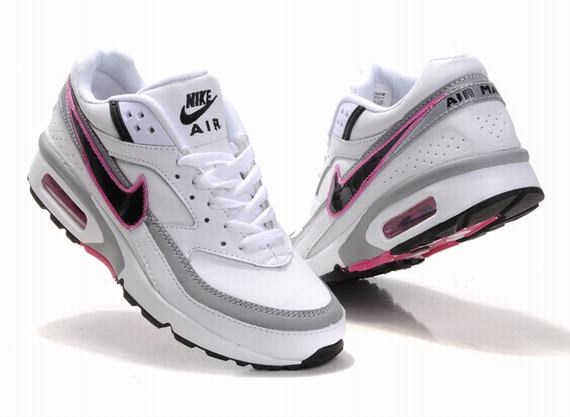 uk availability c4510 53b95 kunming-womens-nike-air-max-classic-bw-2011-white-gray-black-pink-a52q73-582