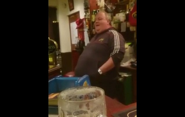Unlikely Irish barman has possibly the best singing voice in Ireland