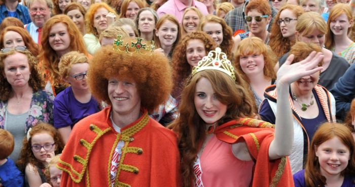Dublin's 10th Edition of Kiss A Ginger Day Takes Place ...